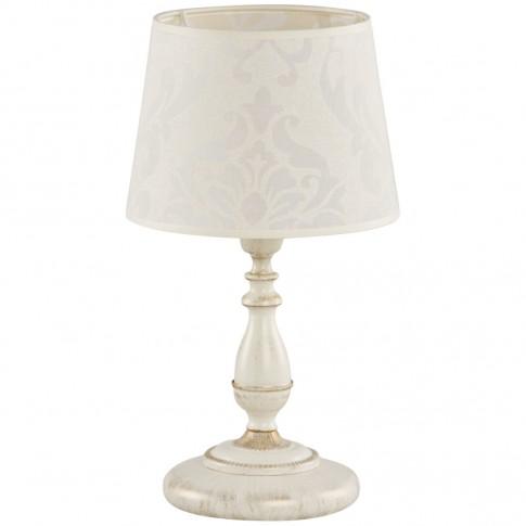 Veioza Roksana KL 6734, 1 x E14, alb antic + ivoire