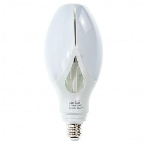 Bec LED Lohuis floare ED90 32603 E27 30W 3000lm lumina rece 6500 K