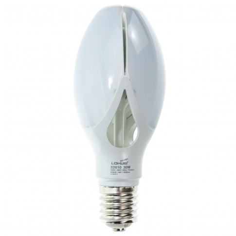 Bec LED Lohuis floare ED90 32610 E40 30W 3000lm lumina rece 6500 K