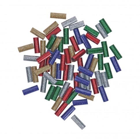 Bagheta adeziv cu sclipici, pentru lipire, Bosch 2608002006, 7 x 20 mm, set 70 bucati