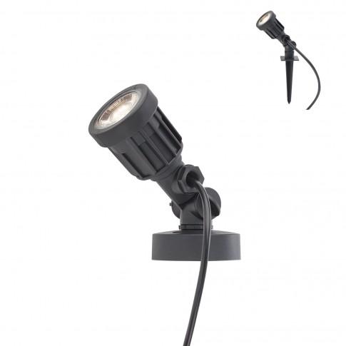 Proiector LED Tim BK 9997, 5W, lumina calda, IP65
