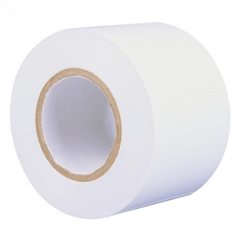 Banda izolatoare Hoff alba 20 m x 0.15 mm x 50 mm