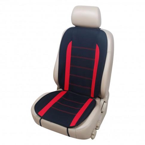 Husa universala pentru scaun auto, mesh, rosu, 104 x 45 cm