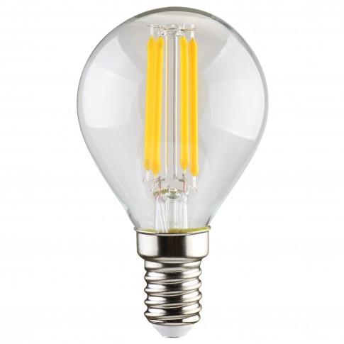Bec LED filament Hoff mini G45 E14 5W 640lm lumina rece 6500 K