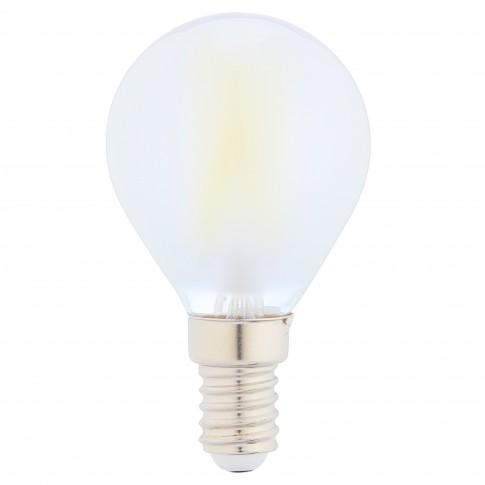 Bec LED filament Hoff mini G45 E14 5W 640lm lumina rece 6500 K, mat