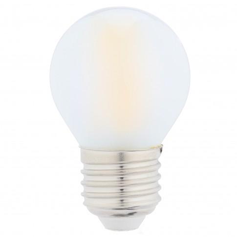 Bec LED filament Hoff mini G45 E27 5W 640lm lumina rece 6500 K, mat