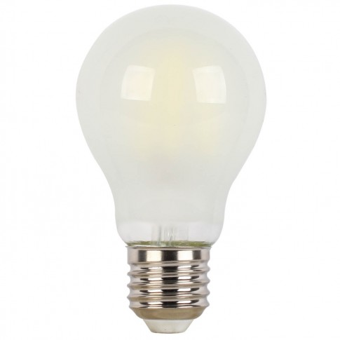 Bec LED filament Hoff clasic A60 E27 8W 940lm lumina rece 6500 K, mat