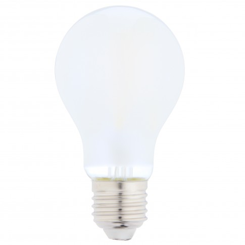 Bec LED filament Hoff clasic A60 E27 10W 1400lm lumina rece 6500 K, mat