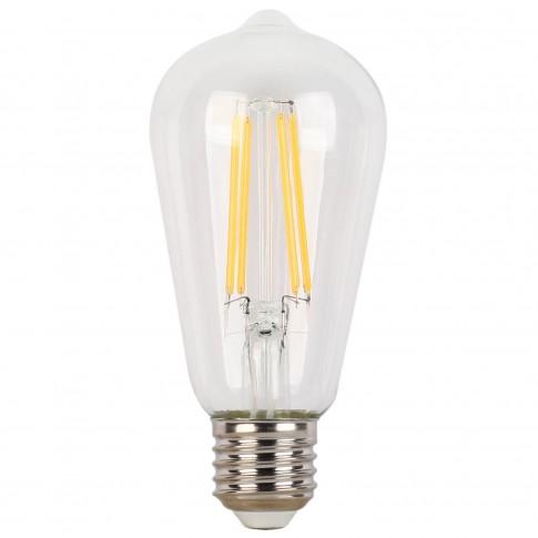 Bec LED filament Hoff clasic ST58 E27 4W 600lm lumina rece 6500 K