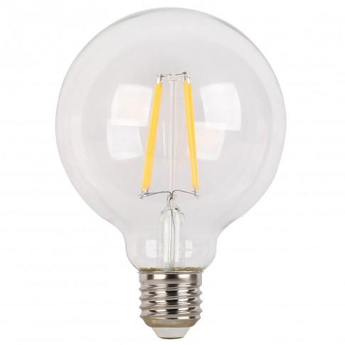Bec LED filament Hoff glob G95 E27 6W 790lm lumina calda 2700 K