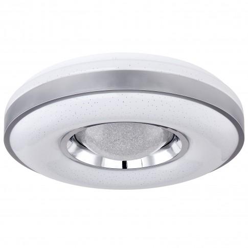 Plafoniera LED Colla 41741-24, 24W, alb + argintiu