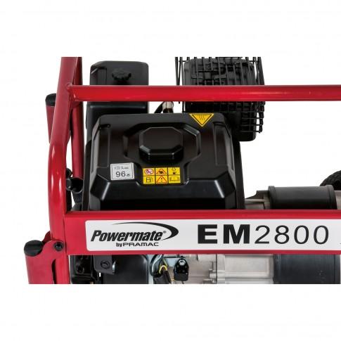 Generator de curent Powermate EM28000, monofazic, cu AVR Stage V, 2.8 kva, 7 CP