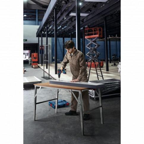Masina de gaurit / insurubat, fara perii, Bosch Professional GSR 18V-50, cu 2 acumulatori, 18 V,  2 Ah