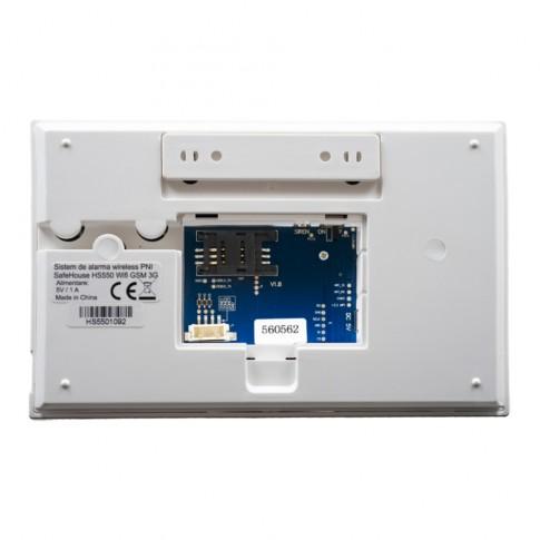 Sistem de alarma Safe House PNI-SHS550, wireless, monitorizare si alerta prin Internet, SMS, apel vocal