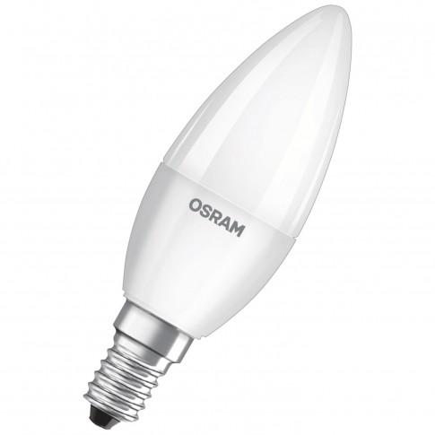 Bec LED Osram lumanare B60 E14 7W 806lm lumina rece 6500 K