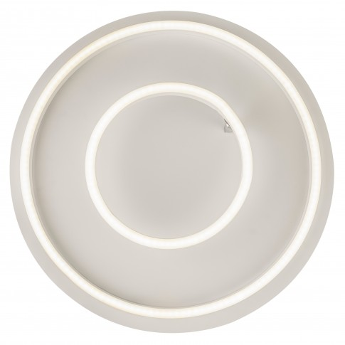 Plafoniera LED Witty 67097-30DW, 30W, D 420 mm, alb mat
