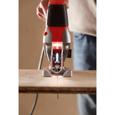 Fierastrau electric vertical pendular, Black&Decker BES610K-QS, 650 W