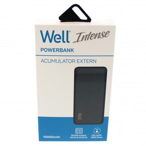 Powerbank 10000 mAh 2.1 A Well