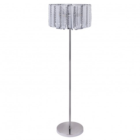Lampadar Walla 15091S, 4 x E14, decoratiuni transparente