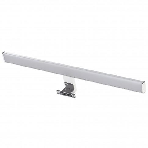 Aplica LED pentru baie Hoff Bath, 12W, 960 lm, lumina neutra 4000 K, IP44, 60 cm, cromata