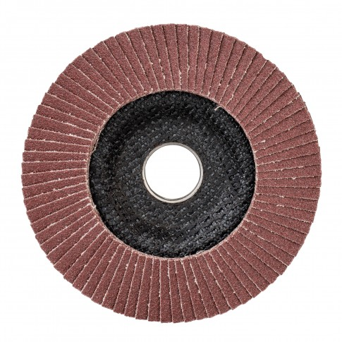 Disc lamelar frontal, pentru metal, Bosch Standard for Metal 2608603658, 125 x 22.23 mm, granulatie 80