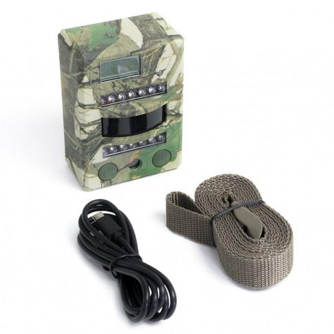 Camera pentru vanatoare PNI Hunting 2C, 8 MP, HD, exterior / interior, IP54, camuflaj