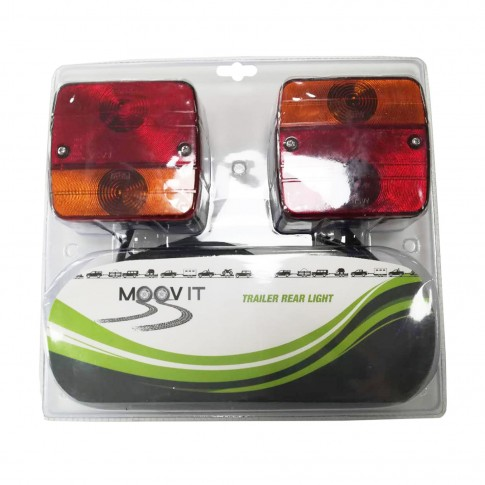 Lampa spate pentru remorca auto, cu magnet, set 2 lampi