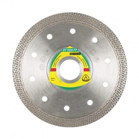 Disc diamantat, continuu, pentru debitare placi ceramice, Klingspor DT 900 FP,  331039, 115 x 22.23 x 1.4 mm