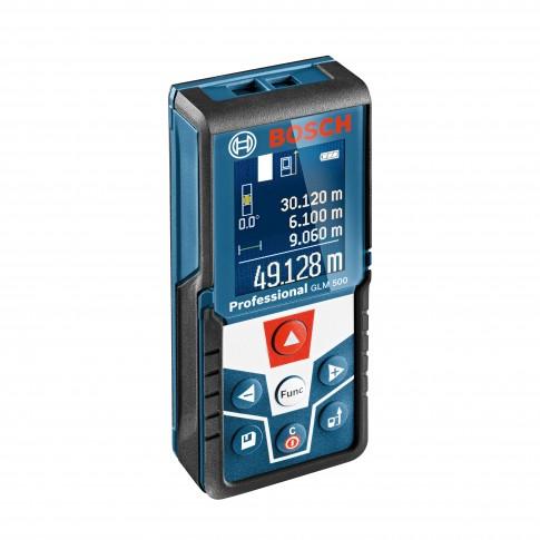 Telemetru cu laser, Bosch Professional GLM 500, 0601072H00