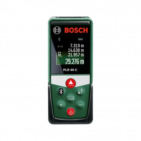 Telemetru cu laser, Bosch PLR 40 C, 0603672320