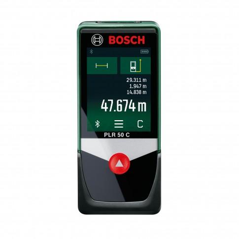 Telemetru cu laser, Bosch PLR 50 C, 0603672220
