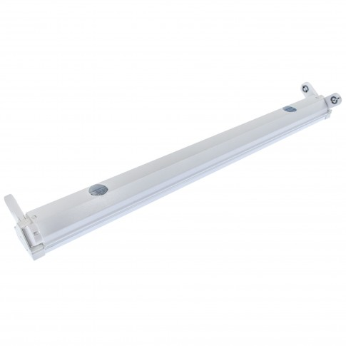 Corp iluminat Hepol Fly pentru tub LED, 2 x T8, 600 mm, IP20