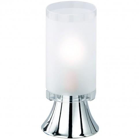 Veioza Tube R50041001, 1 x E14, crom + alb