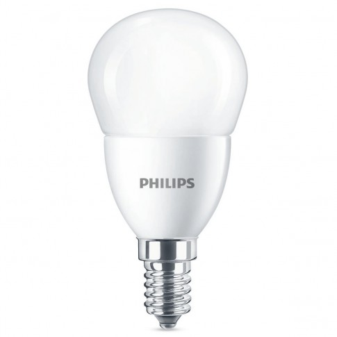 Bec LED Philips mini P48 E14 7W 806lm lumina calda 2700 K - 2 buc