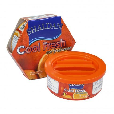 Odorizant auto gel Shaldan Cool Fresh, conserva, orange