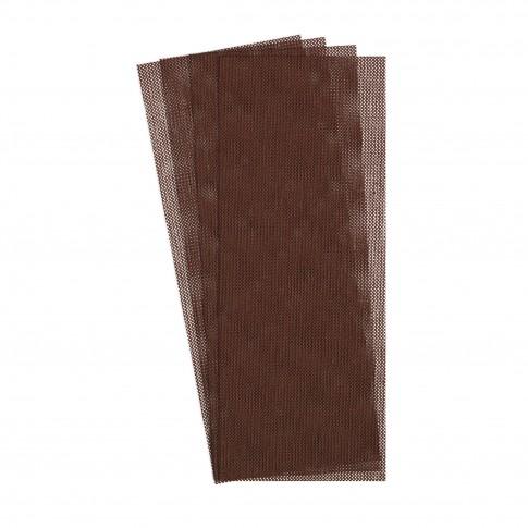 Sita abraziva pentru vopsea / lac / gips / chit / lemn / materiale compozite, Klingspor AN 400, 80 x 133 mm, granulatie 80