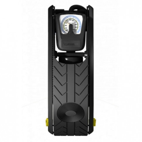 Pompa de picior Michelin, cu manometru, 29.8 x 11.8 x 9 cm