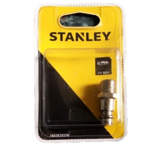 Conector pentru furtun, cu filet exterior, Stanley, 1/4 inch