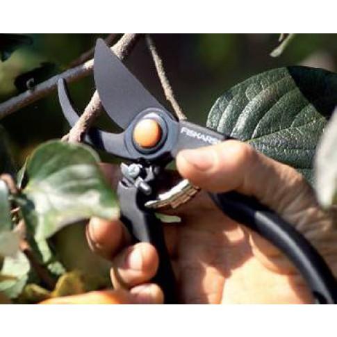 Foarfeca de gradina, pentru taiat crengi pomi, Fiskars Garden Pro 111960, lama otel carbon, 23 cm
