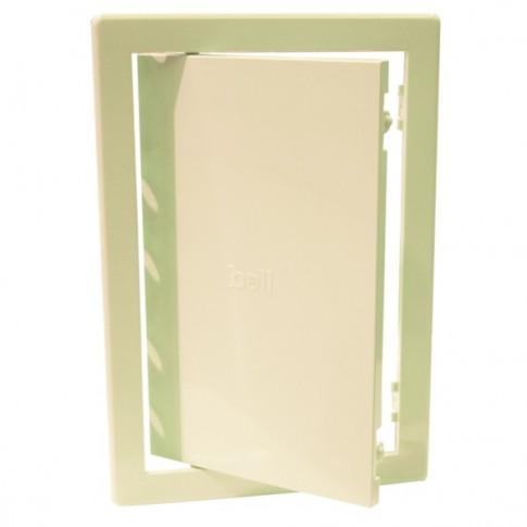 Usita vizitare, pentru instalatii sanitare, Bellplast, bej, 20 x 30 cm