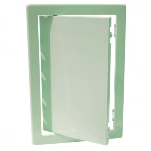 Usita vizitare, TE-MA, pentru instalatii sanitare, verde, 20 x 30 cm