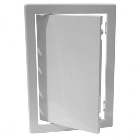 Usita vizitare, pentru instalatii sanitare, Bellplast, alba, 20 x 20 cm