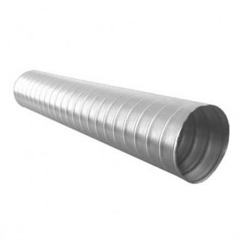 Tub flexibil pentru sisteme de incalzire si ventilare, aluminiu, D 90 mm