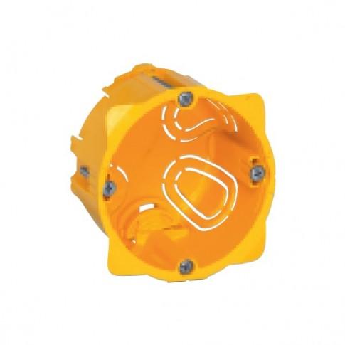 Doza gips carton Legrand Batibox 080041, clasic, 1 x 2 module mixt