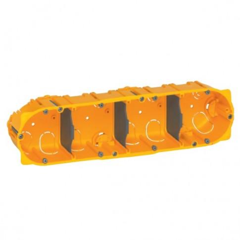 Doza gips carton Legrand Batibox 080044, clasic, 4 x 2 module