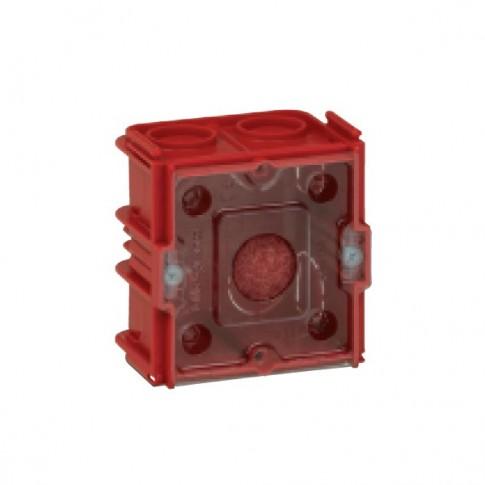 Doza aparat Legrand Batibox 080141, incastrata, clasic, 2 module, 65 x 65 mm