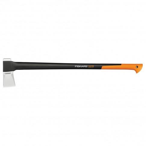 Topor Fiskars X27 XXL, pentru despicat, lama otel carbon + coada poliamida armata cu fibra, 2580 g