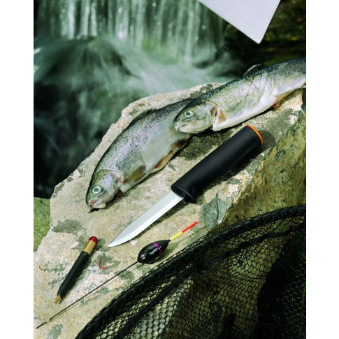 Cutit utilitar Fiskars 125860, lama otel + maner plastic
