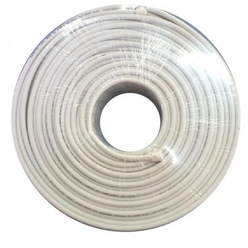 Cablu coaxial RG6 / U 75R CCS / Al, aluminiu cuprat
