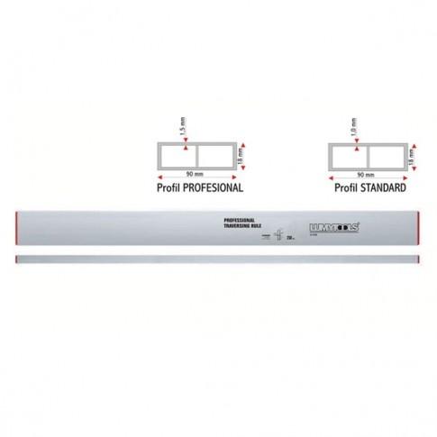 Dreptar aluminiu, pentru constructii, Lumytools LT17826, cu 2 indicatori, 2.5 m